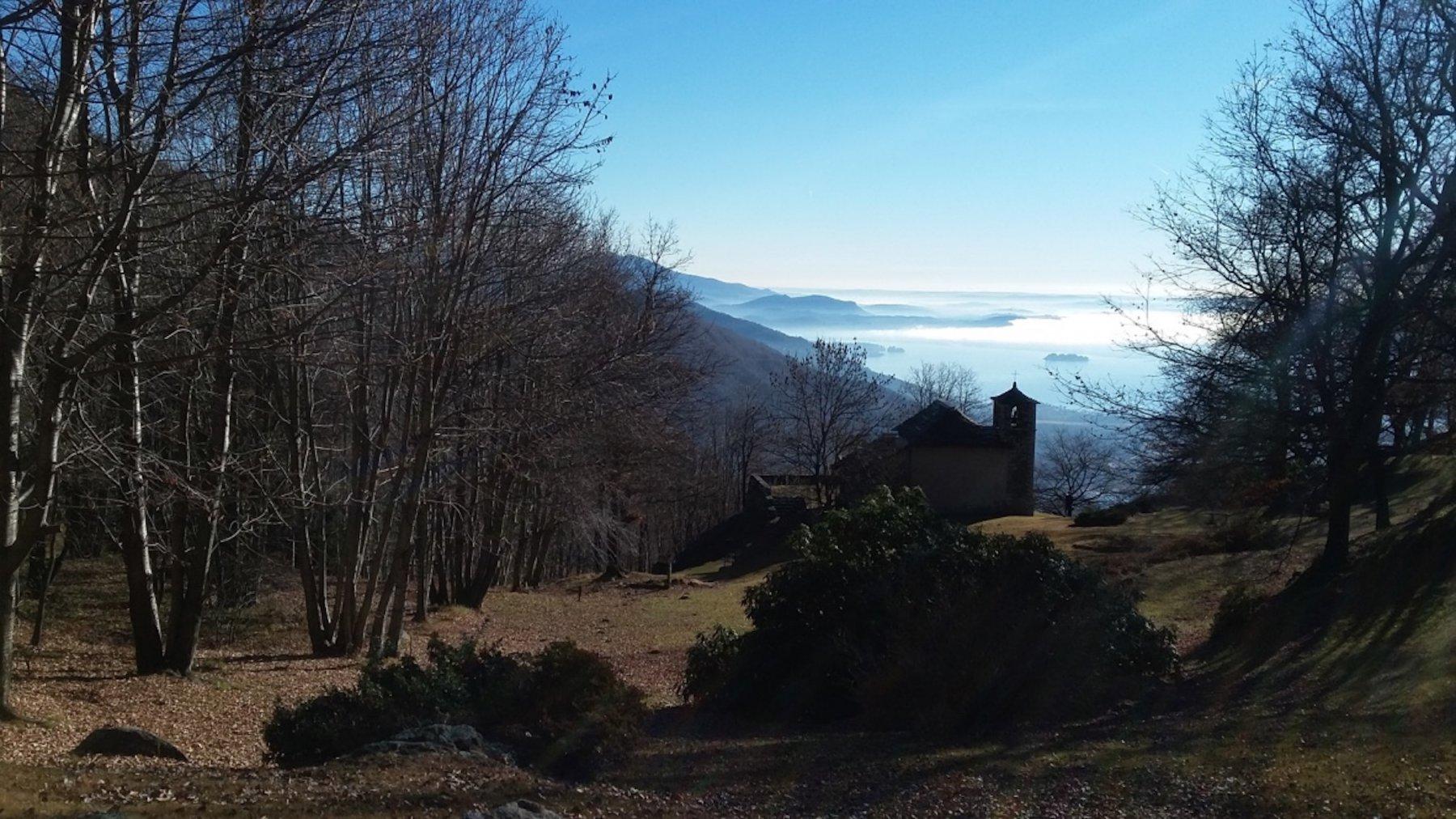 vista lago dall'Eremo