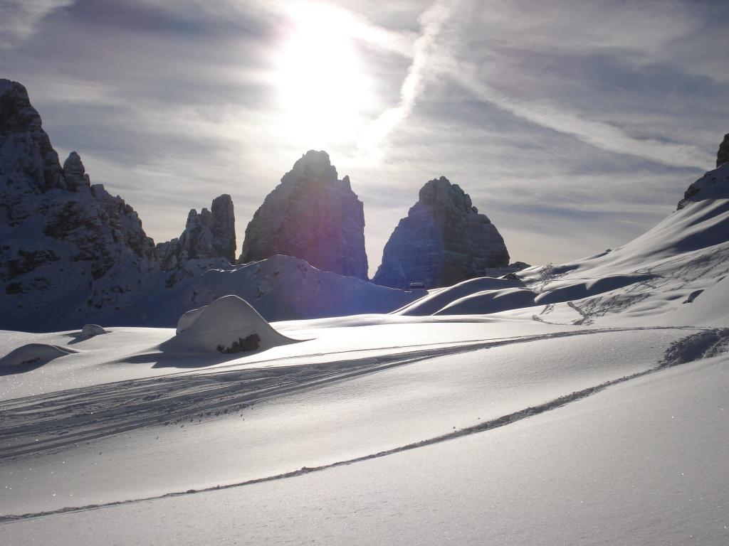 Sesto (Sasso di) dalla Val Fiscalina 2010-12-30
