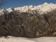 panorama sulla valle di ribordone dal deiro nero