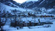 Abries m. 1540, il punto di partenza per la salita al Pic de Clausis (1-1-2011)