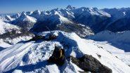 la vetta del Pic de Clausis (1-1-2011)