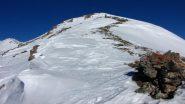 salendo lungo la cresta Sud (1-1-2011)