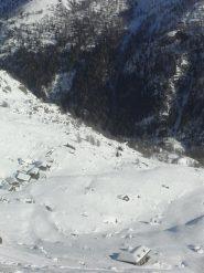 l'alpe Vieille vista dal ricovero