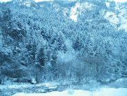 valle maira,7 giorni dall'ultima nevicata