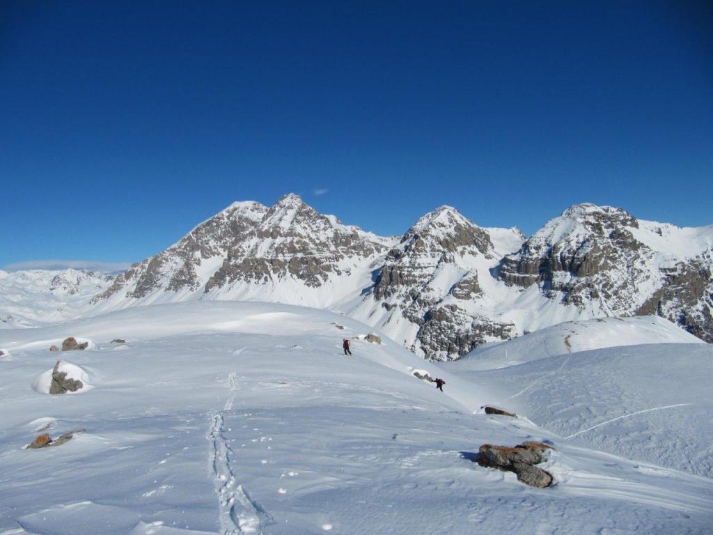 Etroit du Vallon (Col de l') dalla Valle Stretta 2011-01-04