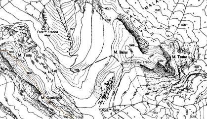 mappa CTR Piemonte della zona