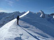 renato arriva sulla cima 2760 m