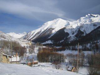 l'Alpet e la pointe Basse de Mary visti da Maljasset