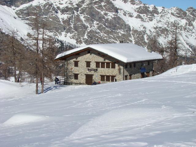 Raty (Col) da Mont Blanc, anello per il Col du Lac Blanc 2011-01-15