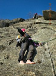 arrampicata.. old style