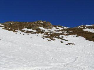 In basso la neve sparisce a vista d'occhio