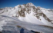 Il Monte Faroma dalla vetta del Grand Pays; all'estrema destra il Cervino