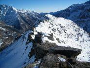 La Merola e la cresta dal Colle Sià