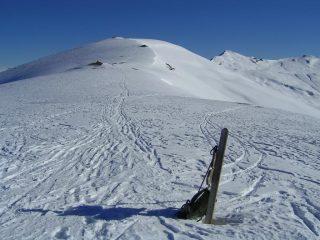 Vista dal Passo Borel verso la Punta dell'Omo
