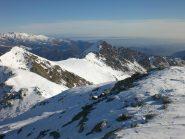P.Marmottere e Rocc Moross dalla cima