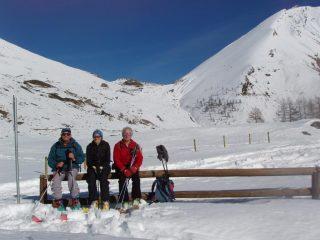 Sosta al ritorno a Pian dell'Alpe
