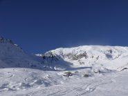 La cima dagli alpeggi