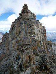 Cresta Sud - La vetta