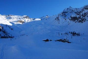 Gli Alpeggi ed il vallone di Entrelor