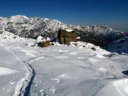 Masso Il Cubo vicino all'Alpe Granairolo