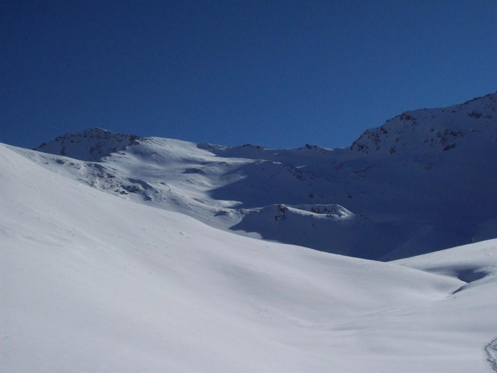 Terra Nera (Monte) dalla Val Thuras 2011-01-22
