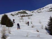 Salendo alla punta Valnera