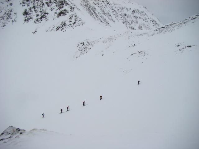 Dentro (Monte di) o Hinterbergkofel dal lago Anterselva 2011-01-25