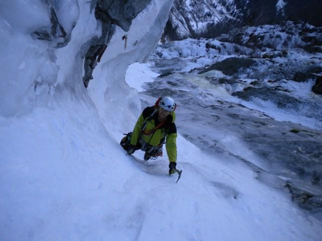 Lobbia (Monte) Gran Couloir 2011-01-26