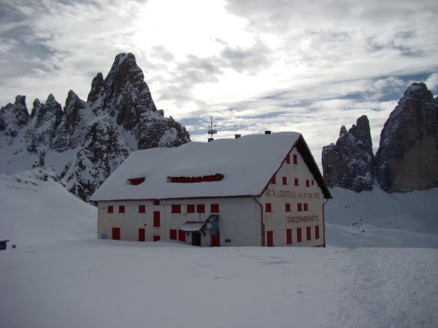 Locatelli (rifugio) da Piano Val Fiscalina 2011-01-29