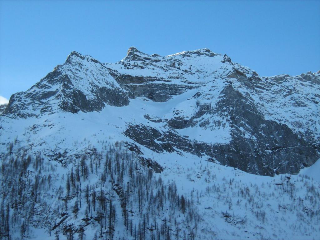 Versante N del Monte Reti