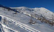 La lunga cresta del Monte Birrone