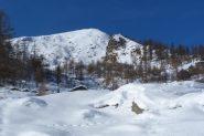 alpeggio la Comba e sullo sfondo la meta: la Gran Roccia