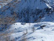 gli alpeggi di pian Gioè salendo