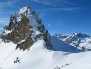 Vista del Colle Leynir dall'alto
