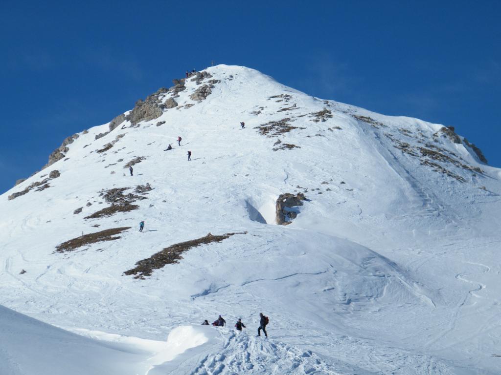 Viridio (Monte) e Punta Parvo da Chiotti, anello 2011-02-06