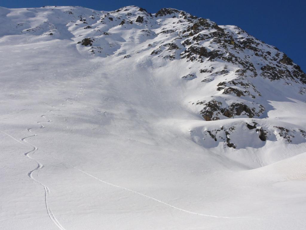 Pebrun (Monte) Parete NE - Canale dx 2011-02-10