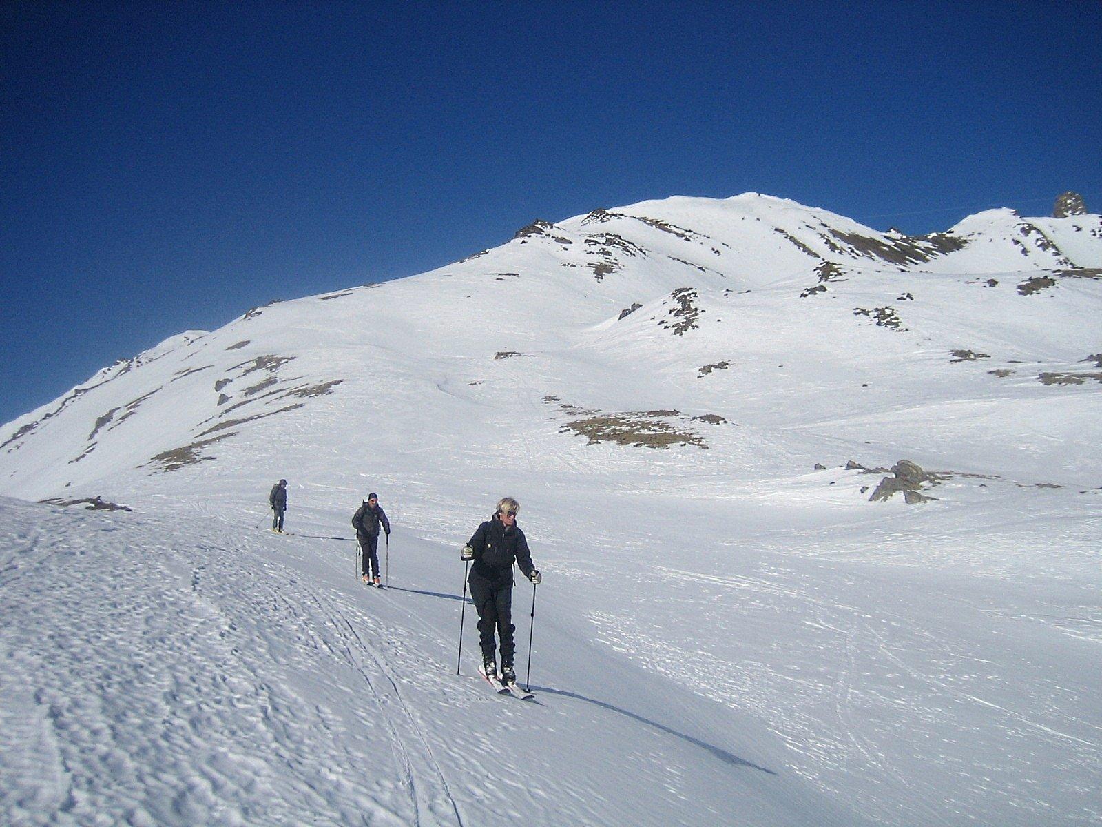 Ponsonniere (Crete de la) da le Pont de l'Alpe 2011-02-10