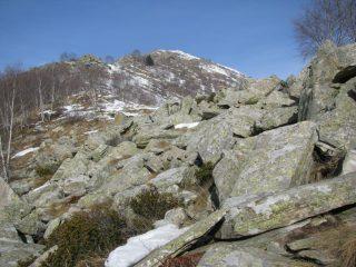 La cresta per l'Arbella
