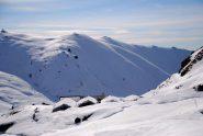 l'Alpe Portia e dietro il Colle degli Astesiani