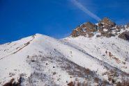 uno sguardo sui pendii di Rocca Patanua versante Gravio