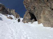 neve, rocce e caverne