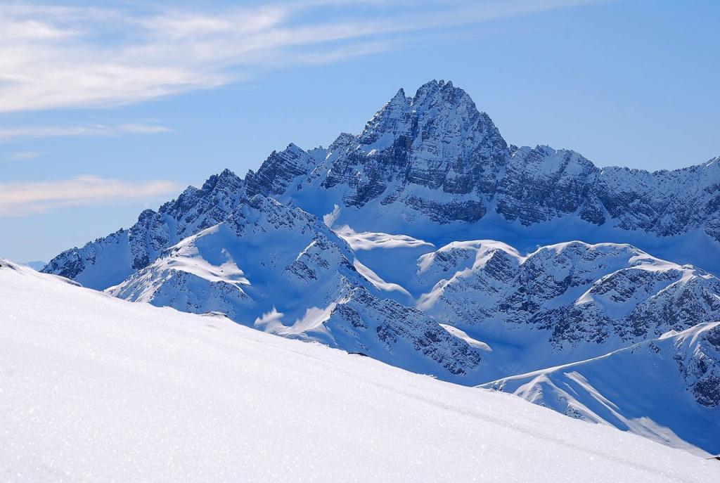 arrivati in cresta ecco il  Pic de Rochebrune