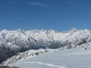 Dalla sommita', vista sull'alta Valle di Forzo