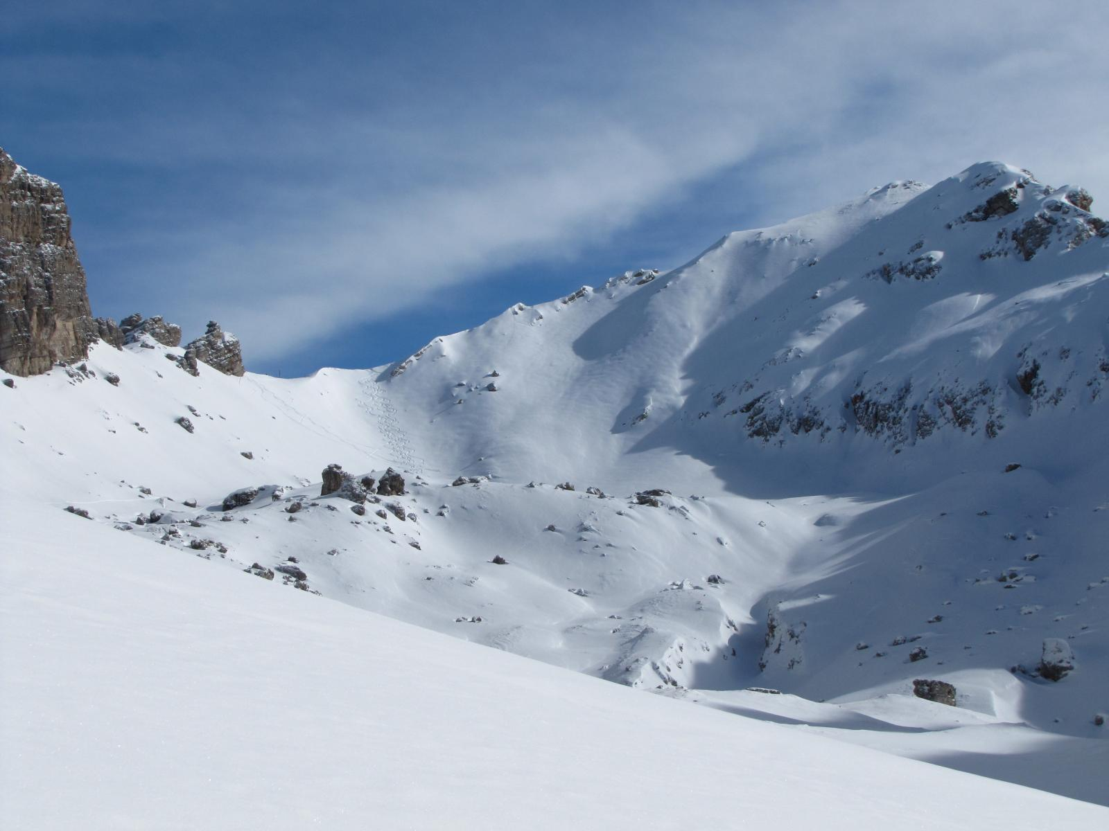 Turond (Col) o Col Rotondo per la Val Chedul 2011-02-18