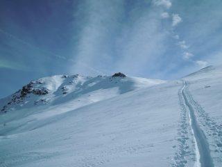 Verso la cima del Pitre