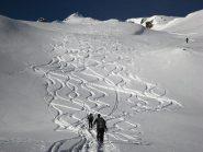 neve farinosa sopra i 2000 m
