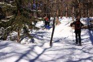 momenti di salita nel bosco..01 (19-2-2011)