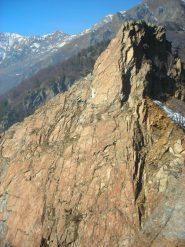 La parete sudest della Courbassera Piccola