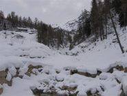 a valle della diga