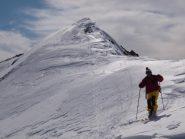 Dalla quota 2713m al colle Chardonnet